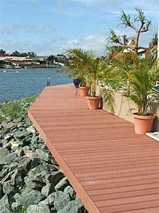 Decking materials 5 4 composite decking material for Choicedek warranty