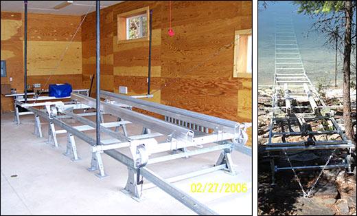 Marine rail systems railway accessories