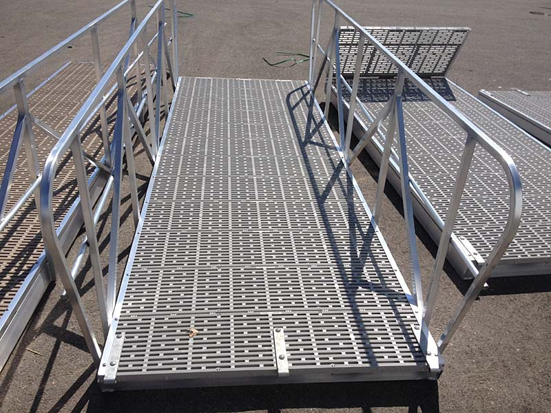 Residential Aluminum Gangways and Ramps in British Columbia