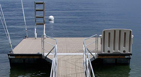 Dock Hardware | boat dock hardware | floating dock hardware in